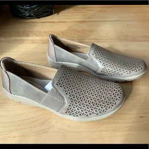 NWT - Brand new taupe loafer shoes